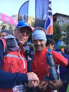 Paolo e Robby prima della partenza